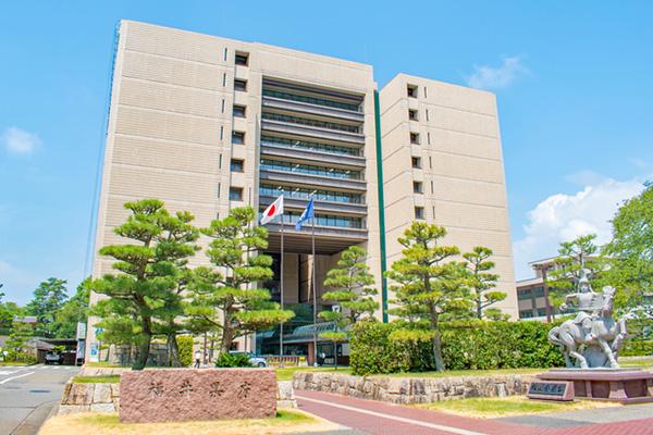 福井県市庁舎 耐震工事