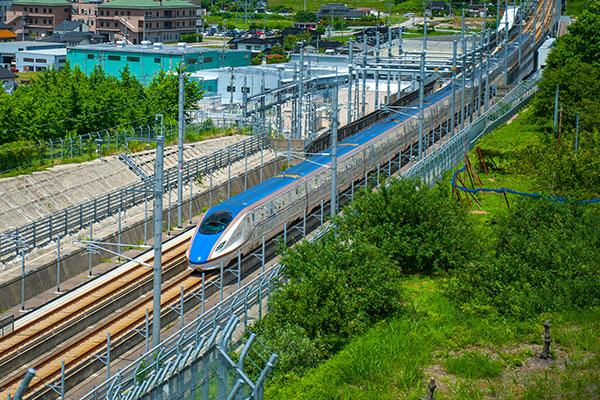北陸新幹線工事