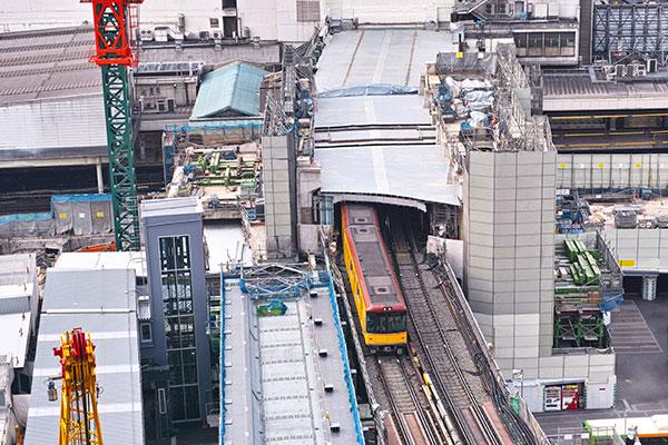 JR渋谷駅 改良工事