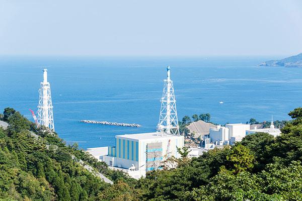 島根原子力発電所 地盤津波対策工事