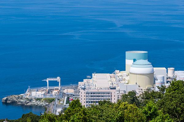 四国電力伊方発電所作業所