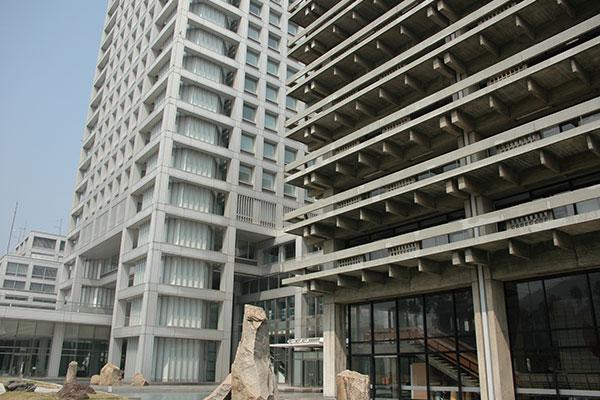 香川県庁関連工事作業所